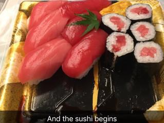 Finally in Japan!