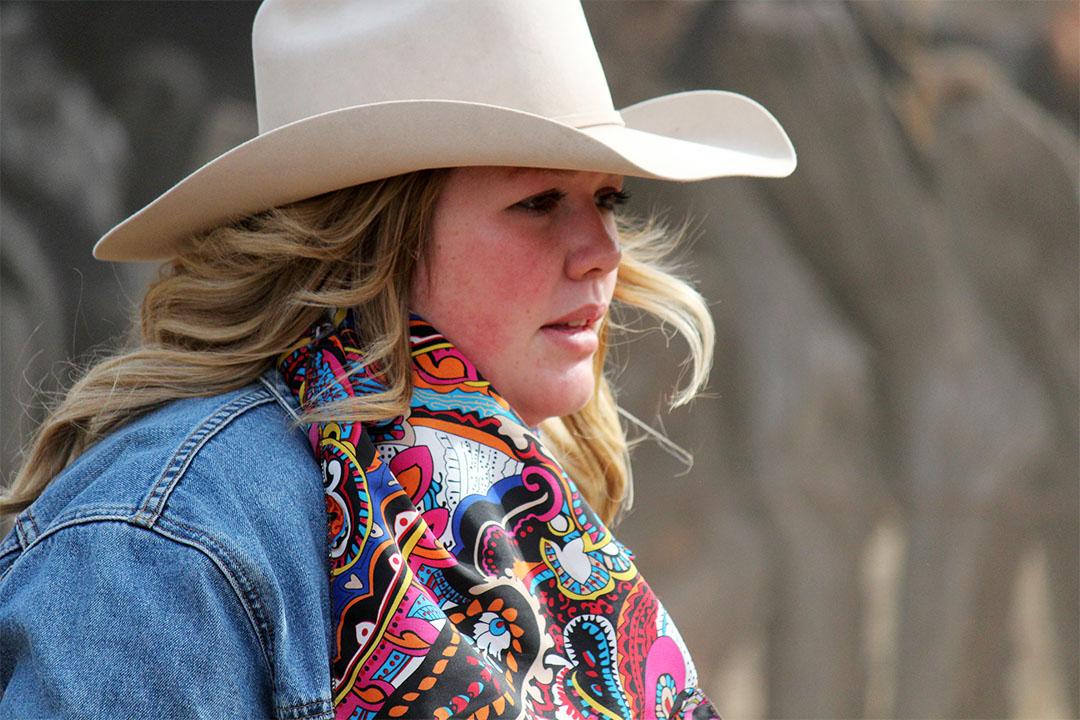 Cowgirl closeup