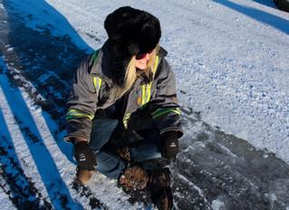 Ice Roads? Ice Roads.