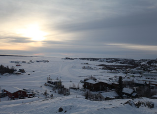 Great White North, or Yellowknife