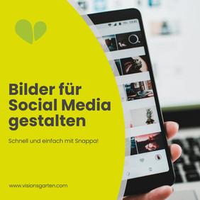 Schnell und einfach Bilder für Social Media gestalten!