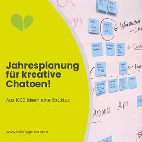 Jahresplanung für kreative Chaoten: Von tausend Ideen zu einer Struktur