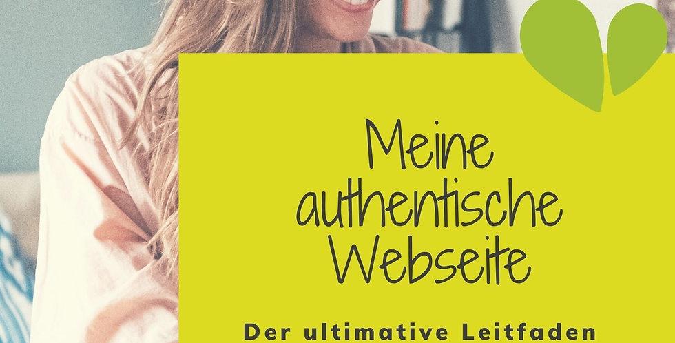 Meine authentische Webseite [Leitfaden]