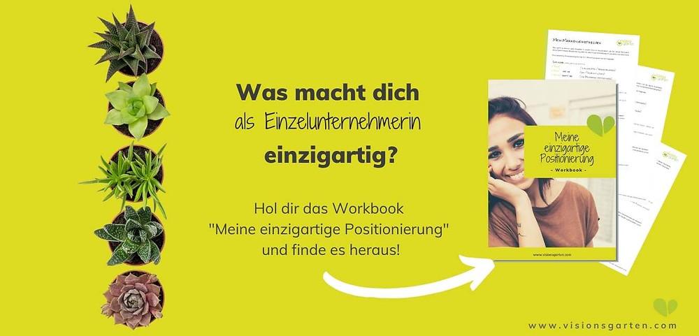 """Workbook """"Einzigartige Positionierung"""""""
