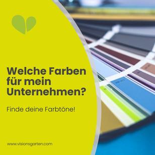 Welche Farbe für's Logo? Außergewöhnliche Farbtöne für dein Unternehmen finden!