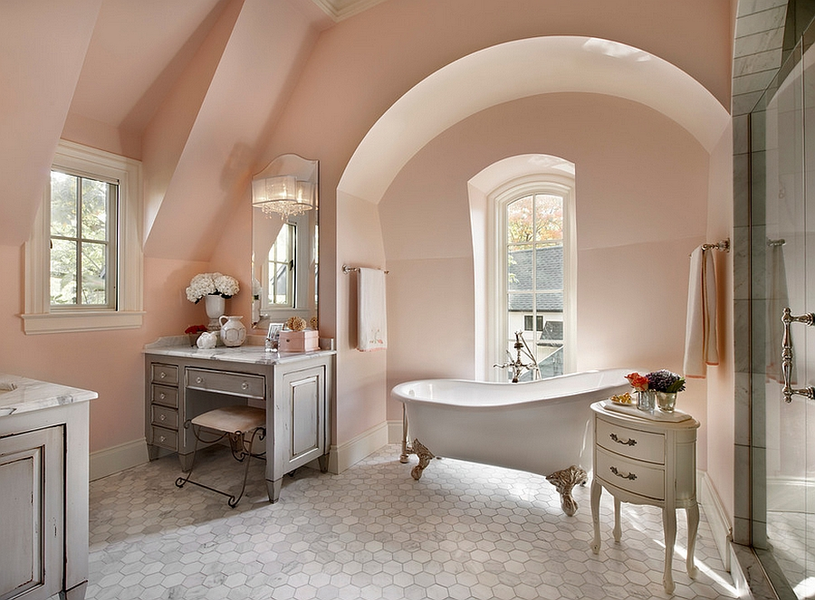 French-country bath Inspiration