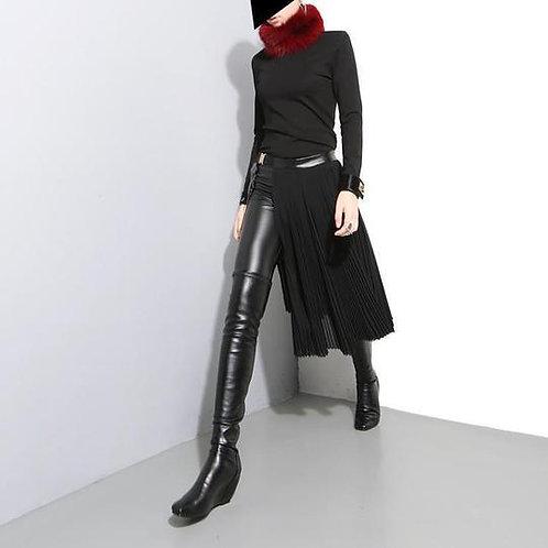 Pleated - half Skirt