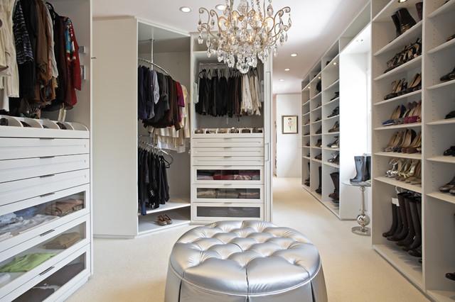 Contemporary Closet Inspiration