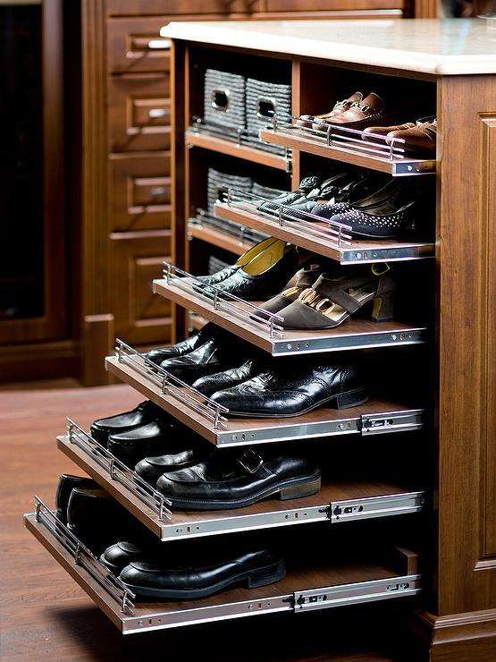 Pull-out shoe rack Inspiration