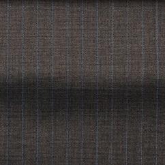 Brown-blue pinstriped