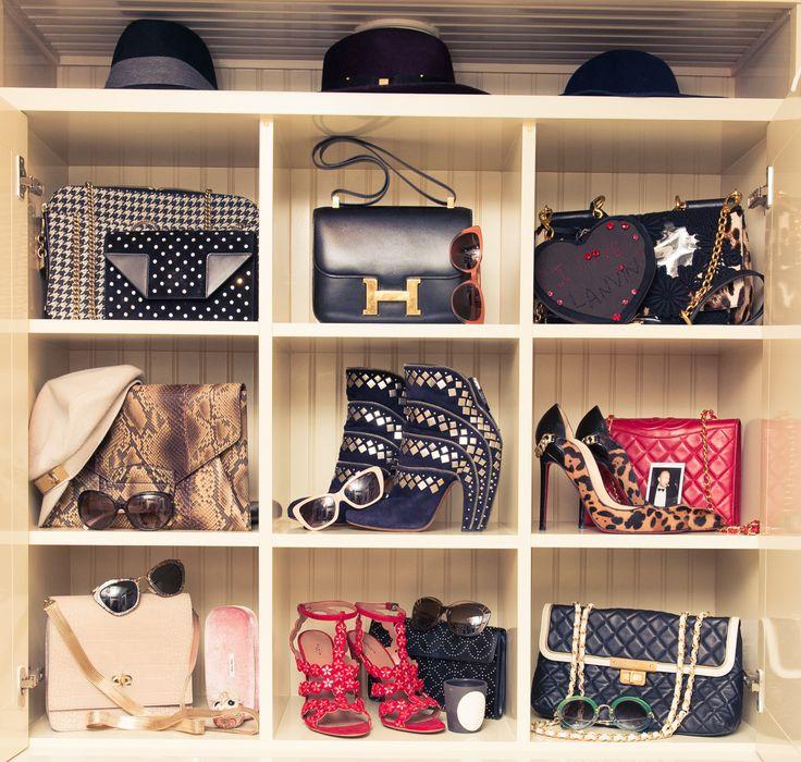 Bag and shoe Closet Inspiration