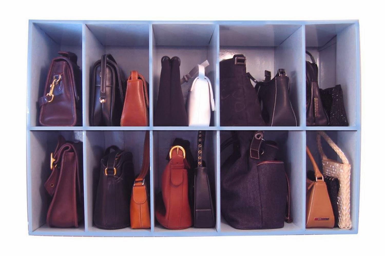 Purse-closet  organizer Inspiration