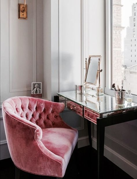 Glamour-girl Workspace Inspiration