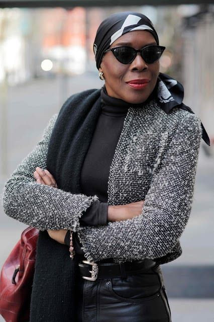 Street style for mature women