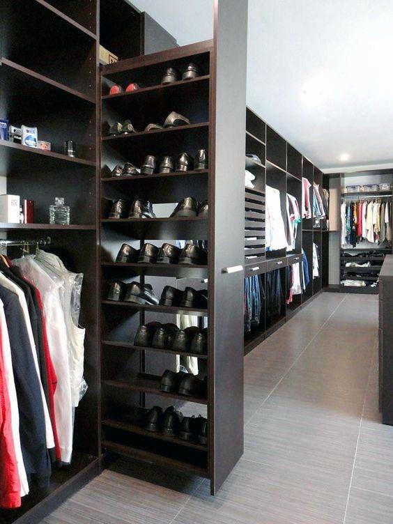 Sliding Shoe closet Inspiration