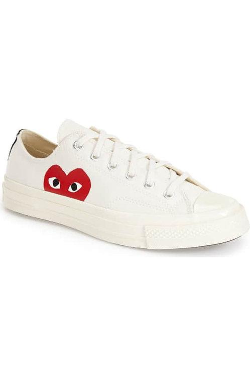 PLAYx Converse Chuck Taylor®- Hidden Heart Low TopSneaker (women)