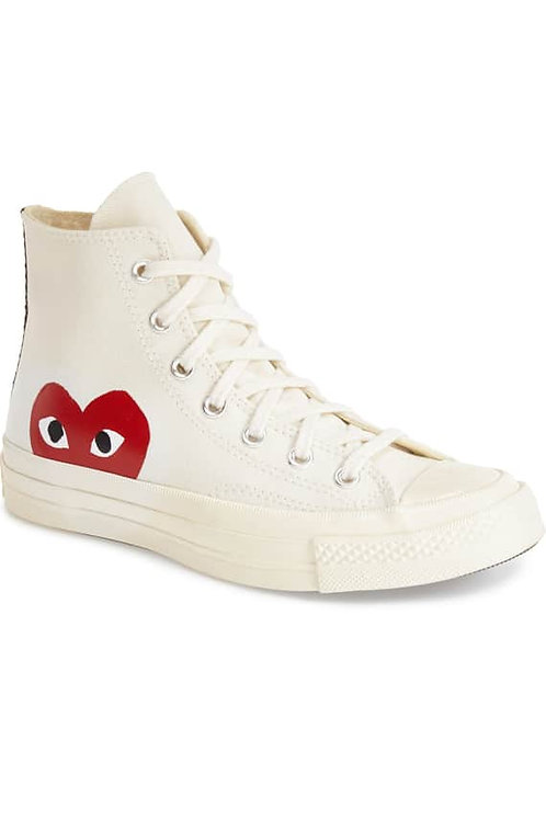 PLAYx Converse Chuck Taylor®- Hidden Heart High TopSneaker  (WOMEN)