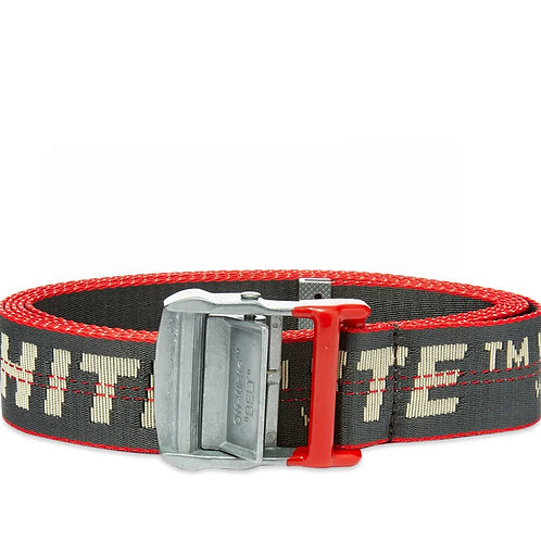 "Off-White Industrial Belt ""ANTHRACITE"""