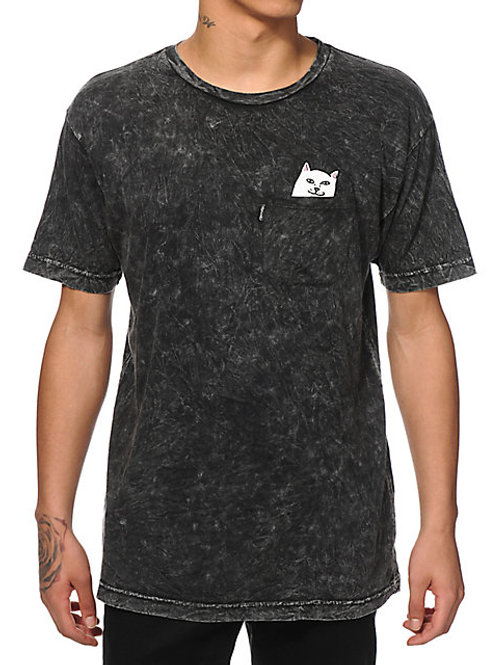 RIPNDIP Lord Nermal Tie Dye Pocket T-Shirt