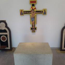 cruz do presbitério