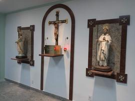 painéis e sacrário