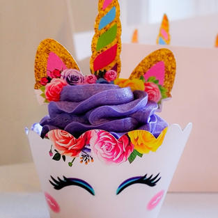 Themed Cupcake Wrapper