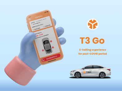 T3 Go: E-hailing experience for post COVID Period