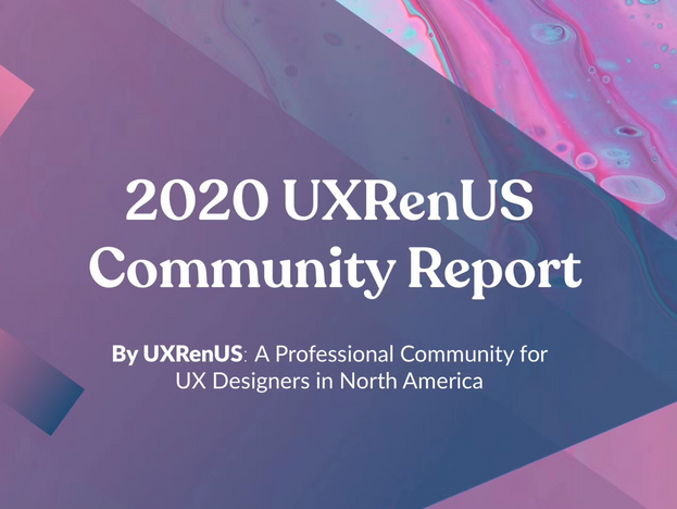 2020 UX Community Report