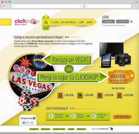 Clickshop - Bet on vegas 2
