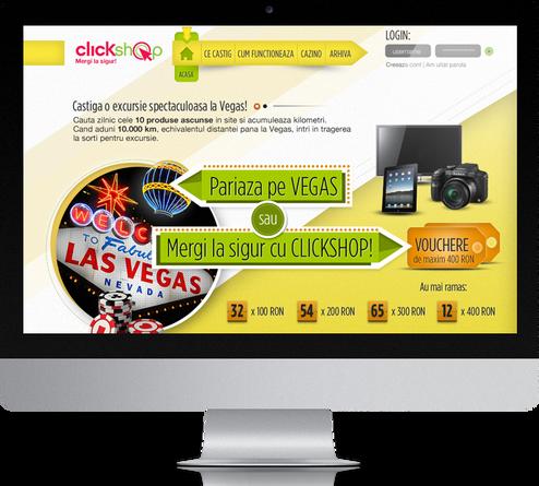 Clickshop - Bet on vegas 1