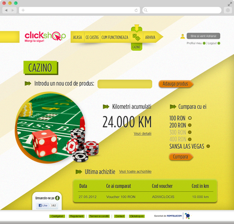 Clickshop - Bet on vegas 4