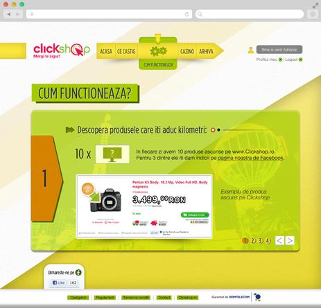 Clickshop - Bet on vegas 3
