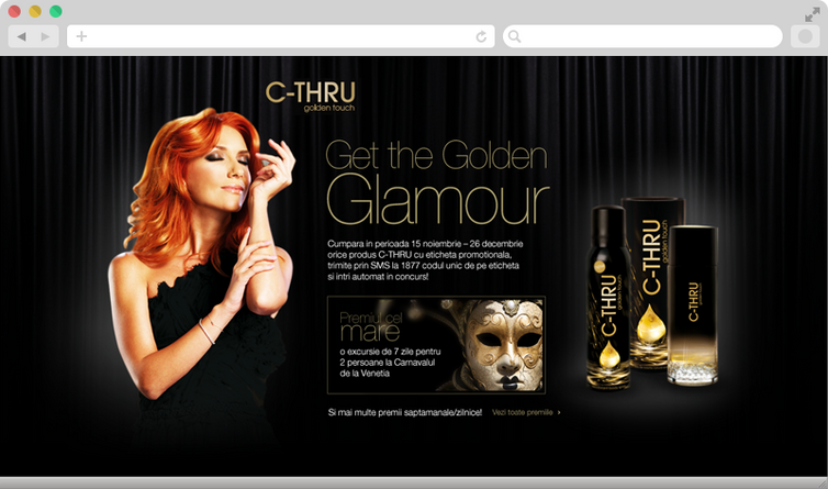 Get the golden glamour 2