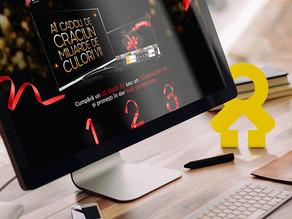 Campania de Crăciun LG, creată în colaborare cu INTERACTIONS, îți oferă un TV gratuit
