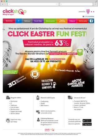 Clickshop Click easter fun fest 2