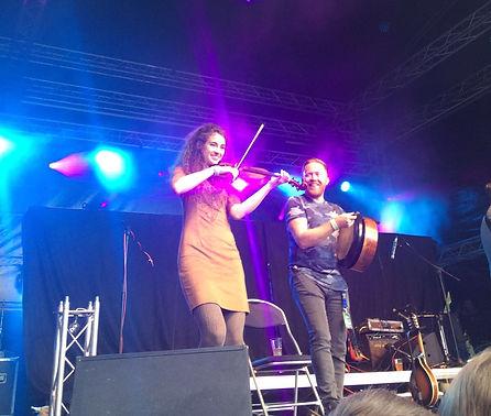 violon fiddle musique celtique concert belgique