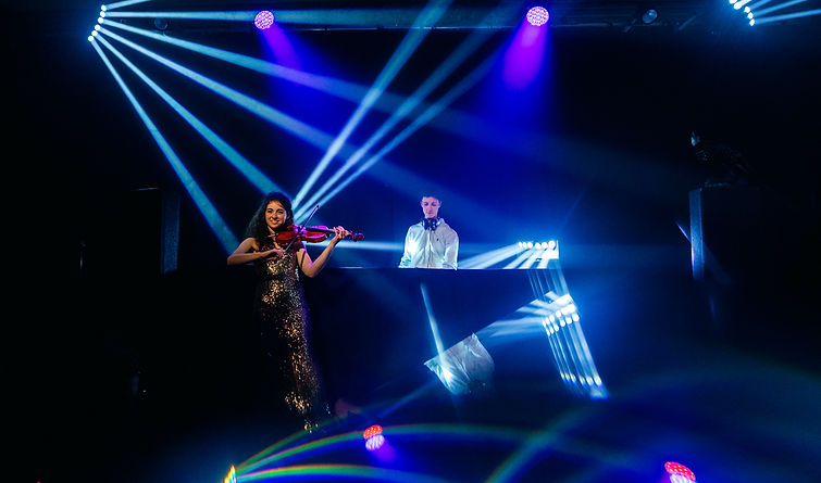 violoniste soirée dansante DJ
