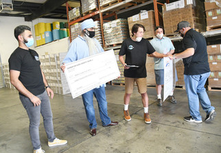 Food bank receives convenient donation