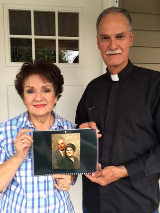 Honoring Carlos and Matilda Esquivel as Guadalupanos of the Society of Madera