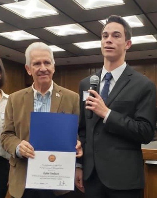 Chowchilla student receives Air Force Academy nomination