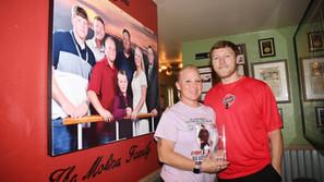 Molina family honored by Perko's