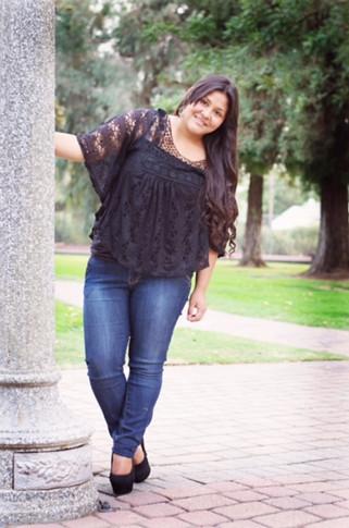 Guadalupana Society queen candidate: Alicia Villanueva