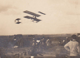 April 5, 1913: First airplane landing in Madera