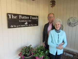 Mr. and Mrs. Leon Potter Valentines forever