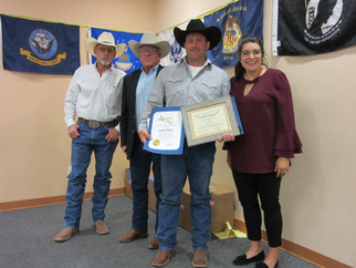 Cattlemen's Association celebrate their own