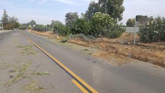 Weak spot in freeway poses risk