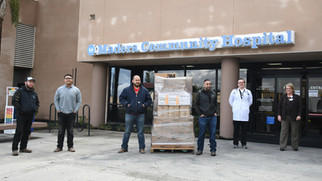 Cal-Pacific sends care to MCH