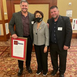 Riley wins small business award