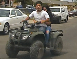 Madera Police seek reckless driver of quad