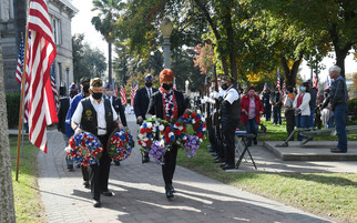 A fitting tribute on Veterans Day